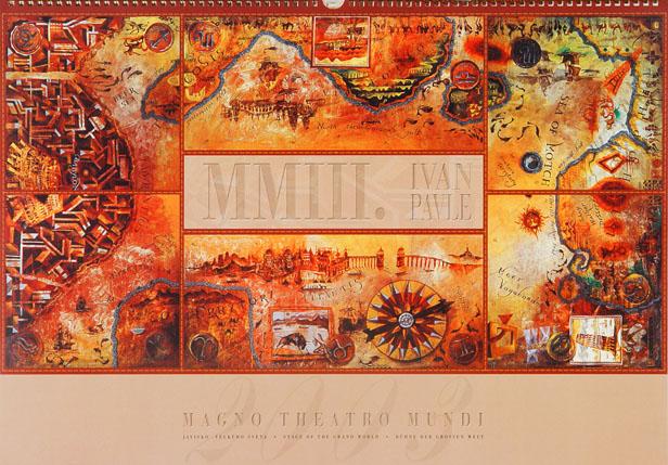 2003 PAVLE kalendar