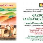 2006 pozvanka_MITRA Gazdovske zabijackove posedenie