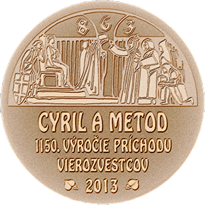 Memorial Medal TTSK the anniversary of Cyril and Methodius